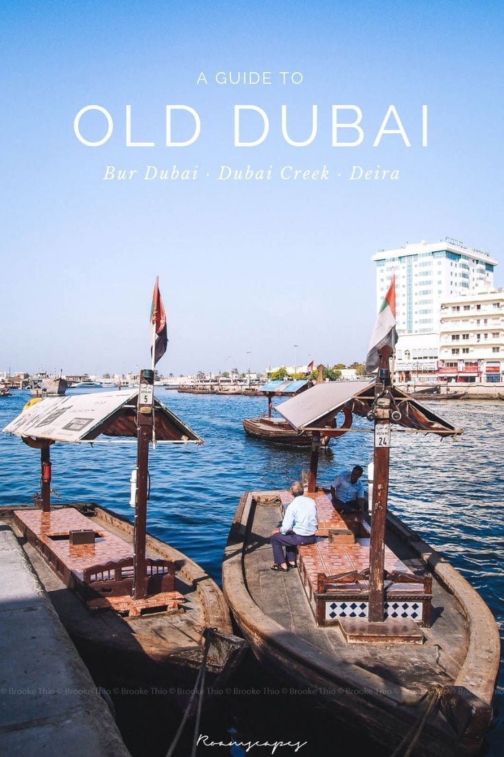 Dubai has a reputation for extravagance and materialism, but venture into the narrow lanes of Old #Dubai with this guide and you'll find the city's true essence. #culture #heritage