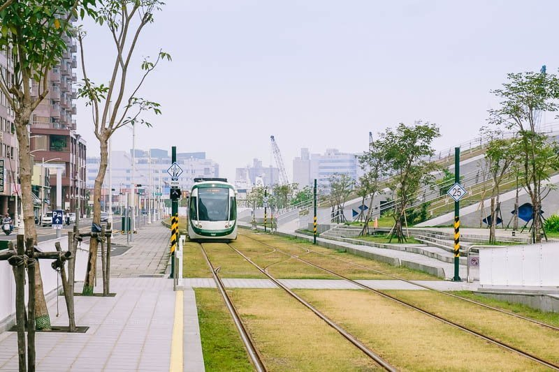Explore things to do in Kaohsiung on the Kaohsiung Light Rail tram