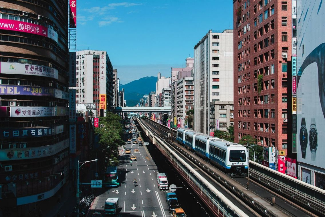 Da'an District, Taipei. Photo: Andrew Haimerl / Unsplash
