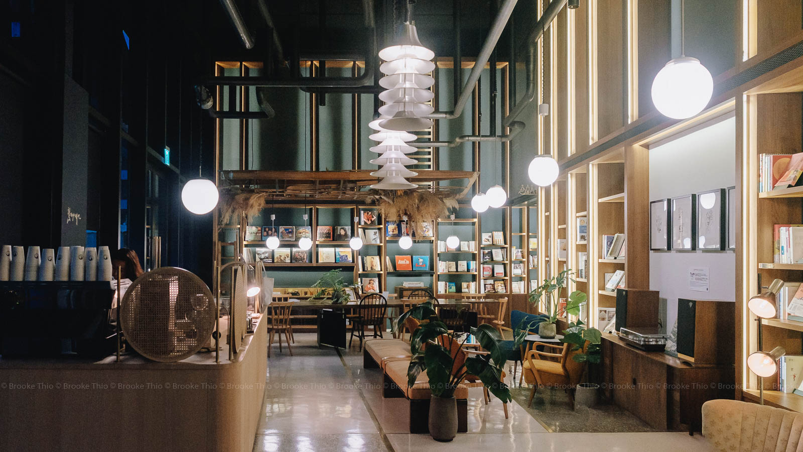 UIJ Hotel Lobby and BBBooks store