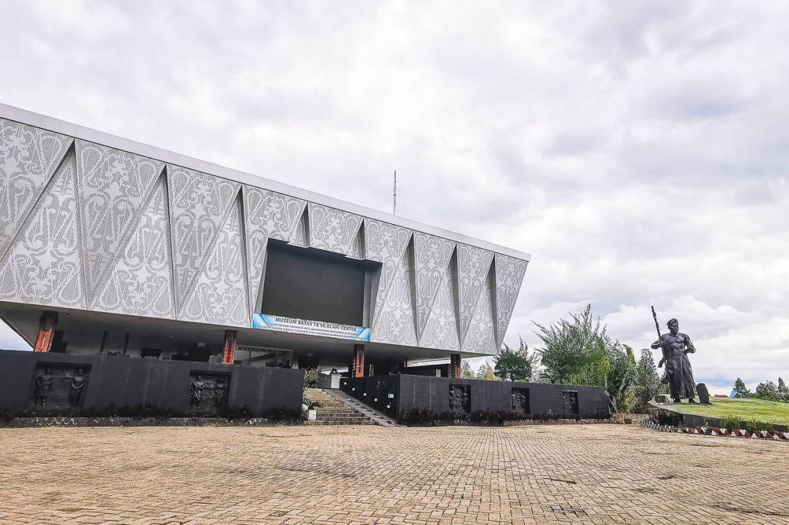 Entrance of the Batak Museum at Lake Toba